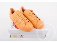 New Adidas Originals Pharrell Williams Supercolor St Nomad Orange Superstar 8.5