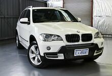 2007 BMW X5 E70 d Steptronic White 6 Speed Sports Automatic Wagon Victoria Park Victoria Park Area Preview