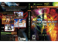 xbox 360 and xbox classic dead or alive collection 7 game discs