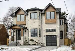 Custom Built 4+1 Fully Furnished Elegant Home In East York!