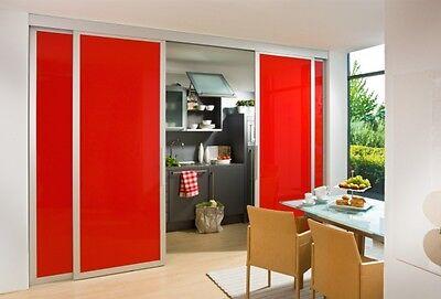 Schiebetüren als Raumteiler   hier zwischen Küche und Esszimmer