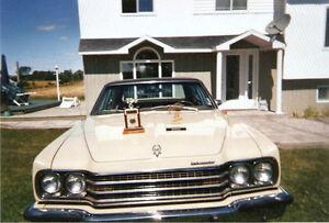 AMC Ambassador 1974, jamais restauré 25000 milles au compteur