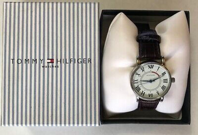 Tommy Hilfiger Women's Watch F80170 Leather Band NEW NOS NWT