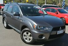 2011 Mitsubishi Outlander ZH MY11 LS Grey 6 Speed Constant Variable Wagon Phillip Woden Valley Preview