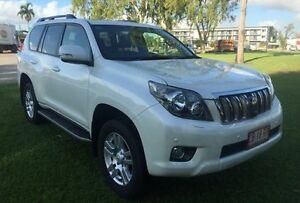 2013 Toyota Landcruiser Prado KDJ150R Kakadu White 5 Speed Sports Automatic Wagon Hidden Valley Darwin City Preview