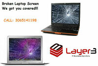 Replace Broken or Cracked Laptop Screen
