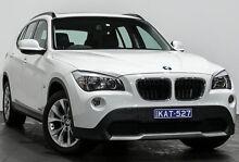 2010 BMW X1 E84 MY11 sDrive18i Steptronic White 6 Speed Sports Automatic Wagon Rozelle Leichhardt Area Preview