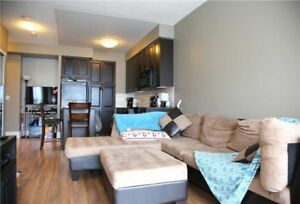 Stunning VIEW Upgraded 1 Bedroom Condo For Rent - Steps SQ 1