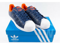 Brand New Adidas S82563 Originals Superstar, Size 8.5, AMS Edition