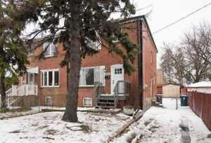 3 Br / 2 Wr Semi-Det Home | Fin W/O Apt Bsmnt | St Clair Ave E