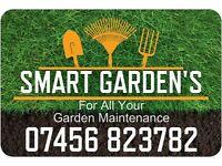 Smart Gardens , Garden maintenance service