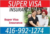 V.Low monthly plans - Super Visa / Travel  Insurance- Now avail.