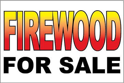 Firewood For Sale Vinyl Banner Sign 2x3 Ft - Wb