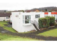 1 bedroom end cottage with GARAGE, unfurnished