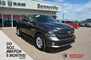 2014 Ram 1500 SPORT, ACCIDENT FREE, LEATHER, REMOTE START