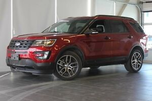 2016 Ford Explorer Sport-Nav-Heated/Cooled Seats-Power Folding T
