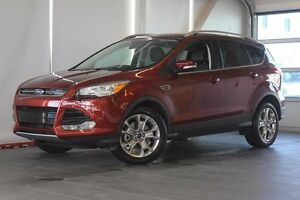 2015 Ford Escape Titanium-Moon Roof-Nav-Heated Leather Seats