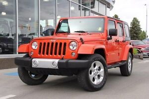 2015 Jeep Wrangler Unlimited Certified | Premium Cloth Interior