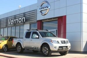 2016 Nissan Frontier PRO-4X Crew Cab with Leather Package