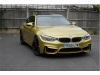 BMW M4 - AUSTIN YELLOW - 5 year service plan