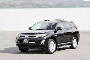 2013 Toyota Highlander Hybrid Limited Hybrid