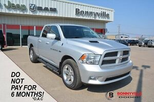 2012 Ram 1500 SPORT, UNDER 63,000 KMS, ACCIDENT FREE