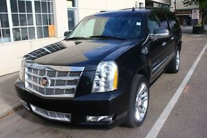 2013 Cadillac Escalade ESV PLATINUM EVERY OPTION BLACK ON BLACK