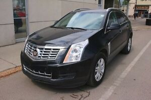 2015 Cadillac SRX LUXURY COLLECTION AWD SUNROOF BLACK ON BLACK F