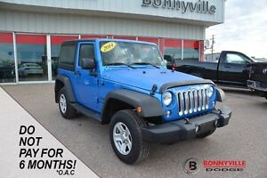 2014 Jeep Wrangler SPORT, GREAT CONDITION, UNDER 38,000KMS
