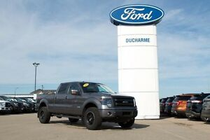 2014 Ford F-150 FX4, Leveled, Max Trailer Tow