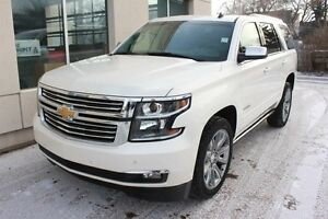 2015 Chevrolet Tahoe LTZ 4x4 1 OWNER LOADED LOW KM FINANCE AVAIL