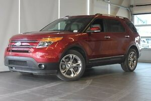 2014 Ford Explorer Limited-Moon Roof-Nav-Blind Spot Monitoring