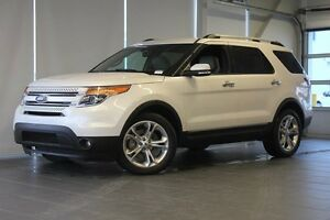 2015 Ford Explorer Limited-Moon Roof-Nav-Power Folding Third Row