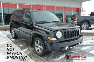 2016 Jeep Patriot HIGH ALTITUDE, UNDER 17,000KMS, LIKE NEW CONDI