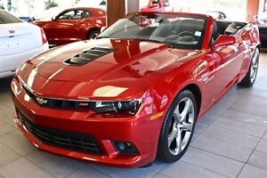 2014 Chevrolet Camaro 2SS CONVERTIBLE RED ROCK LOW KM LOADED FIN