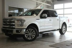 2016 Ford F-150 Lariat-Moon Roof-Max Tow Pkg-Nav-Heated Steering