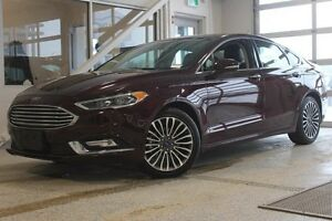 2017 Ford Fusion Titanium-AWD-Moon Roof-Nav-Heated/Cooled Seats