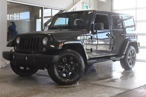 2014 Jeep Wrangler Unlimited Sahara-Nav-Heated Leather Seats