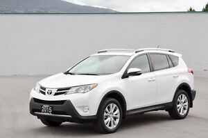 2015 Toyota Rav4 Limited AWD w/Tech Pkg