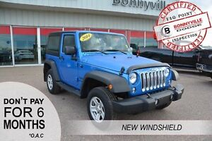 2014 Jeep Wrangler SPORT, UNDER 38,000KMS, GREAT CONDITION