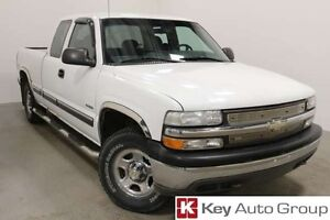 2000 Chevrolet Silverado 1500 Base 4x4 Extended Cab 157.5 in. WB