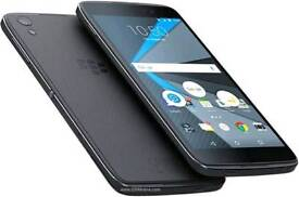 Blackberry DTEK50 16GB Black Grey Unlocked to all networks with all unused accessories and box