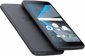 "blackberry dtek50, android smartphone, 5.2"", 16gb, unlocked, new unopened"