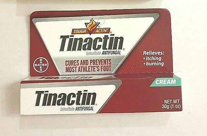 Touch Actin' Tinactin Antifungal - Athlete's Foot Cream  EXP