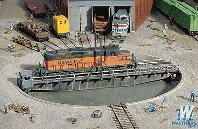 Walthers 90 Feet Turntable Kit without Motor 933-3171 HO Scale (suit OO also)
