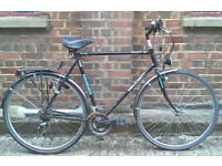 Hybrid classic dutch style bike PEUGEOT, frame size 23inch in good condition - serviced warranty