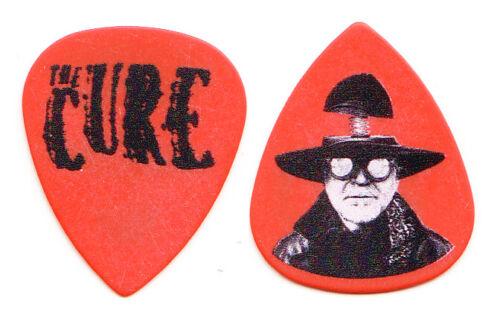 The Cure Robert Smith Orange Guitar Pick - 2019 Tour
