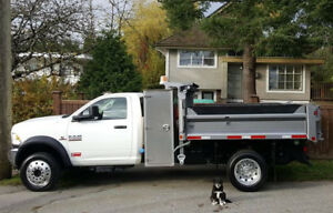 Delivery and dump truck for just $66!