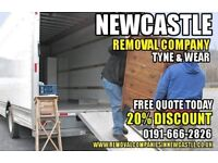 Newcastle Removal Moving Company 20% Discount 01916662826