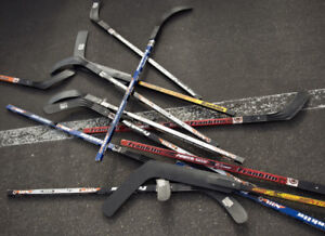 LOOKING FOR OLD/USED HOCKEY STICKS FOR DIY